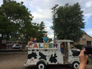 dairy farm truck
